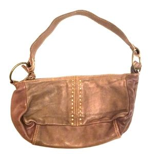 Wilson leather Brown Genuine Leather Hand Bag